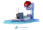 Daily Paint 1286. SNESsie by Cryptid-Creations