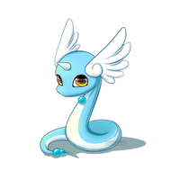Baby Pokemon : Dragonair by shinekoshin