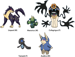 Pokemon BW3: Gender Variants 1