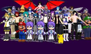 MMD Pmd and Pmx all my Male Collection by Sephikuji