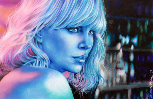 Charlize Theron - Atomic Blonde by SoulShapedFace