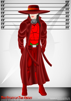 TSOTR Introducing The Characters No.1 - Scarlet by BlackSandrock10