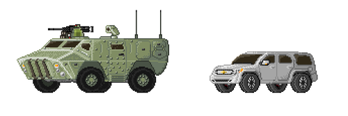More sprites for the Monsta Garage Sheet by Monstarules