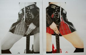 Rock Chick Diptych by RTyson