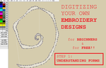 Digitizing free Embroidery designs: Step 1 by smashfold