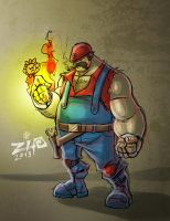 Mario Concept by ZipDraw