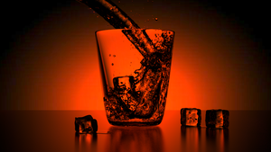 Glass of Water by 7Dexter7