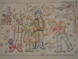 Caroling with Friends by I230