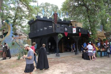 Texas Renaissance Festival Shop - The Black Castle by ImperialArmories