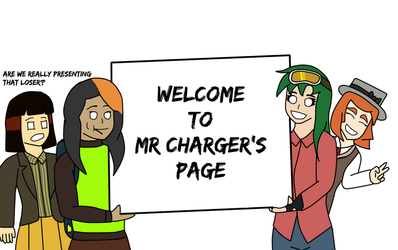 welcome :^] by MisterCharger