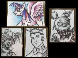Commissions in Shutocon 2016 by JellySoupStudios