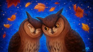 Owl You Need Is Love by DolphyDolphiana