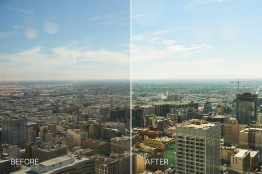 before after street effect for Capture One Pro by filtergrade