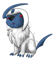 Absol derp by JK-Studio