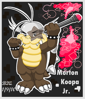 Big boy Morton Koopa Jr. by Bowser2Queen