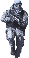 Call Of Duty MW2 Render by Graphfun