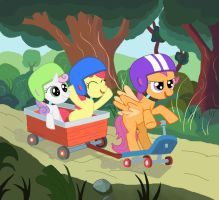 Let's Find our Cutie Mark by Corina93