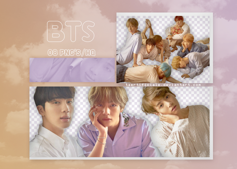 BTS | PNG PACK #24 by taertificials