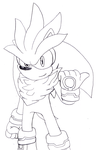 Silver the Hedgehog by spdy4