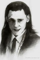 Here Comes the God of Mischief by kleineHerz