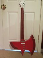 My Marshall Lee Axe by evilcat-105