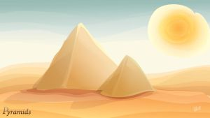 Pyramids by lille-cp