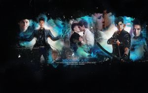 MALEC WALLPAPER SHADOWHUNTERS by lady-alucard