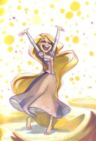 Rapunzel once more by potatofarmgirl