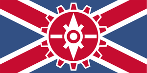 Flag of the United Dominions of Avelov by RvBOMally