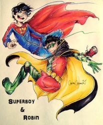 Super Sons by CartoonCaster21