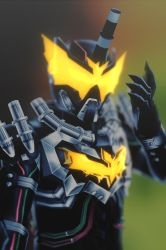 [MMD KAMEN RIDER] Steam Bat-Man by MIST-TO-GUN