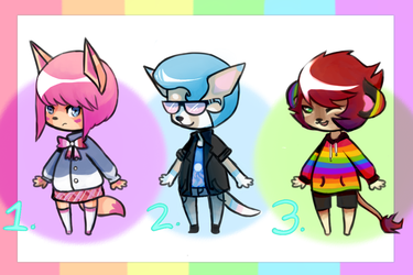 [OPEN] PRIDE Adopt Batch Paypal Only by Welcome-To-Moonside