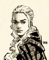 Game Of Thrones Daenerys by urban-barbarian