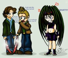 The Winchesters and Envy by TheBig-ChillQueen