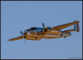 B-25 NL1024B Pacific Prowler by AirshowDave