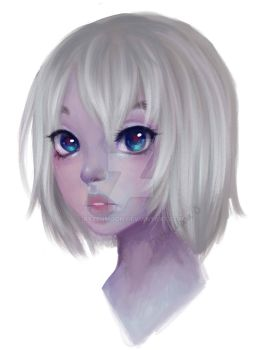 Painted An Old Sketch by RyzenMoon