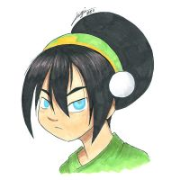 Gift - Toph by yeomaria