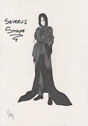 Severus Snape ~ by Noohime