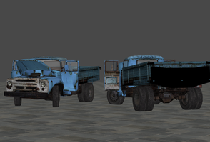 Civic ZIL-130 - Rigged by Marcelievsky