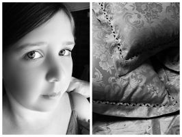 Girl With Cushion by Delt4
