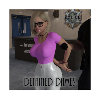 3DBG - Detained Dames Cover Image by MartyMartyr1