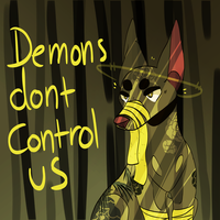 demons dont control us by OrangeJuicee