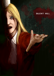 Not Tomorrow - Silent Hill by wherethedoodleslive