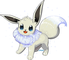Shiny Eevee by Willow-Pendragon