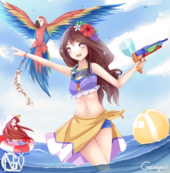 Pool Party Quinn by Nyesth