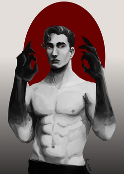 These hands are stained with more than just blood by Pauchisbas