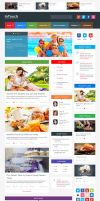 InTouch - Retina Responsive WordPress News Theme by ZERGEV