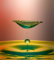 abstract form of water by 1poz