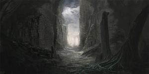 Incarnot project - Ruins concept by mrNepa