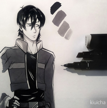 Voltron, Keith Redraw by kiuicha